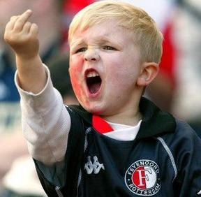 middle finger kid